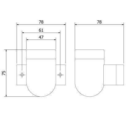 Porcelain wall light dimensions