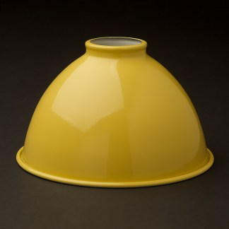Pale Yellow 7 inch Dome Light Shade