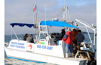 Edisto Island's Miss Ellen tour boat