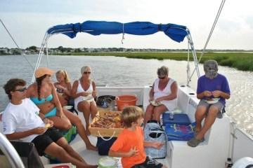 Bring the whole family on an Edisto Island shrimping tour
