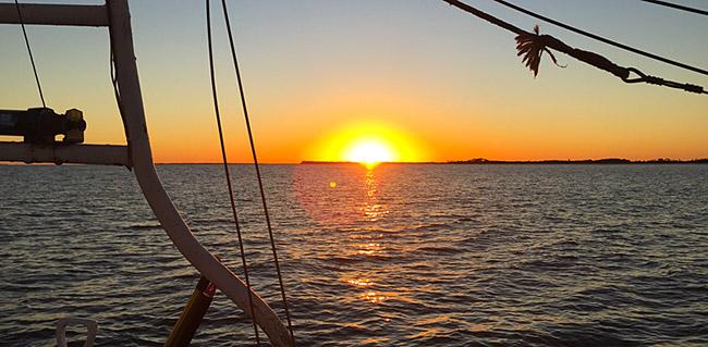 Edisto Island beautiful sunset excursions