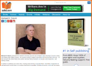 Sample AALBC.com Author Profile
