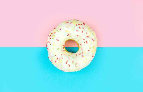 Donut food craving