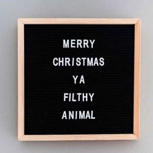 Non-traditional Christmas movies