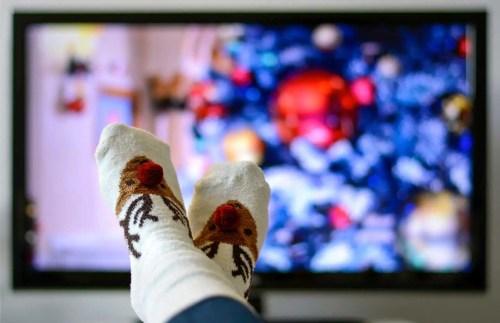 cheesy Christmas movies
