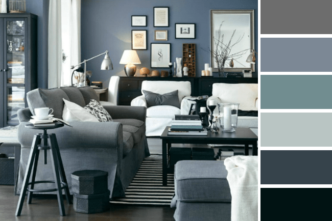 muted color palette for fall