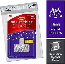 Adjustable Indoor Command Hooks