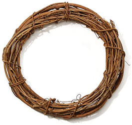 Grapevine wreath 3 pack