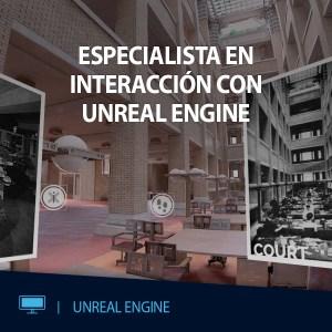 CURSO VR ESPECIALISTA INTERACCION CON UNREAL ENGINE EDITECA