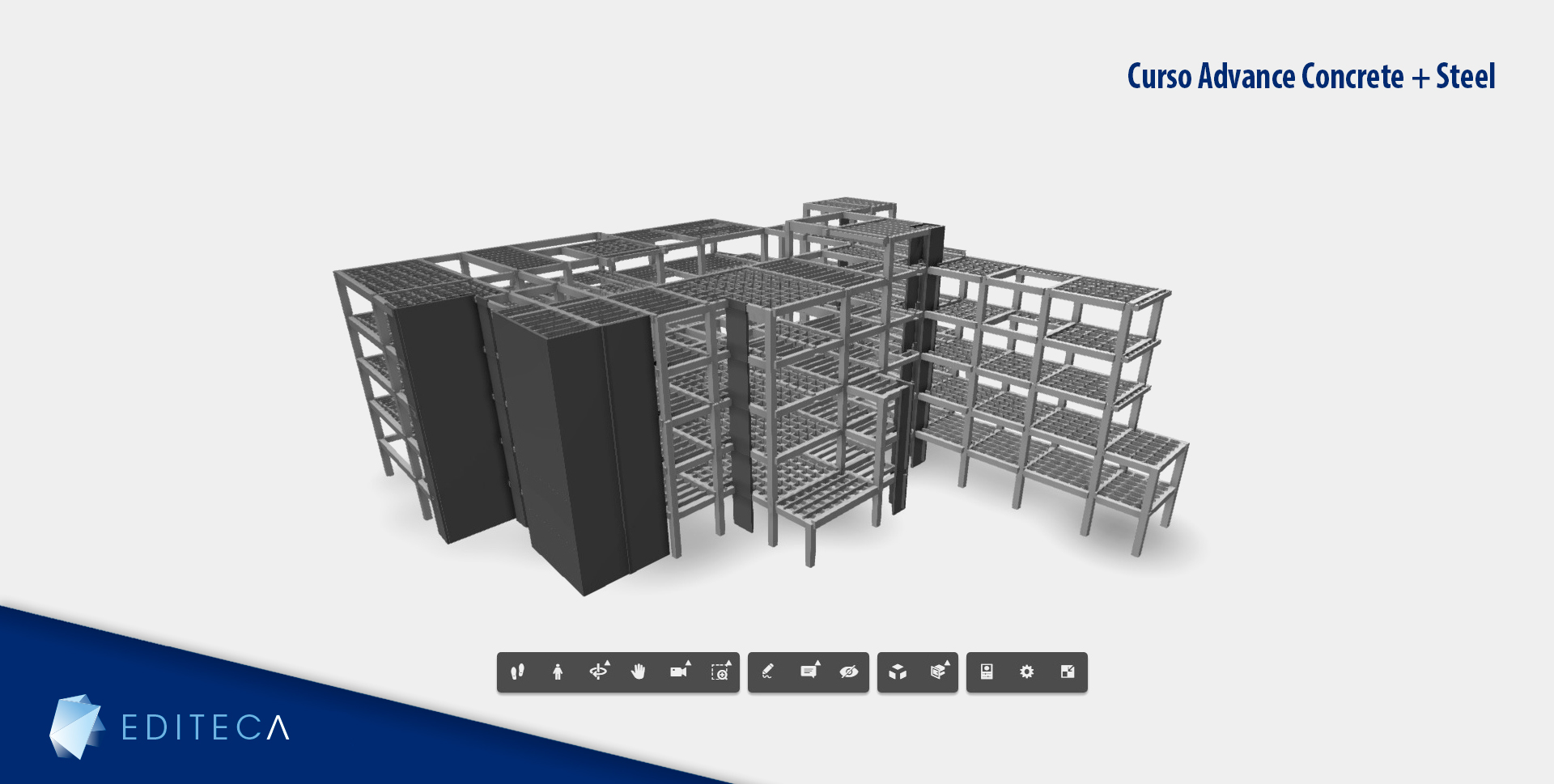 proyecto curso advance concrete and steel