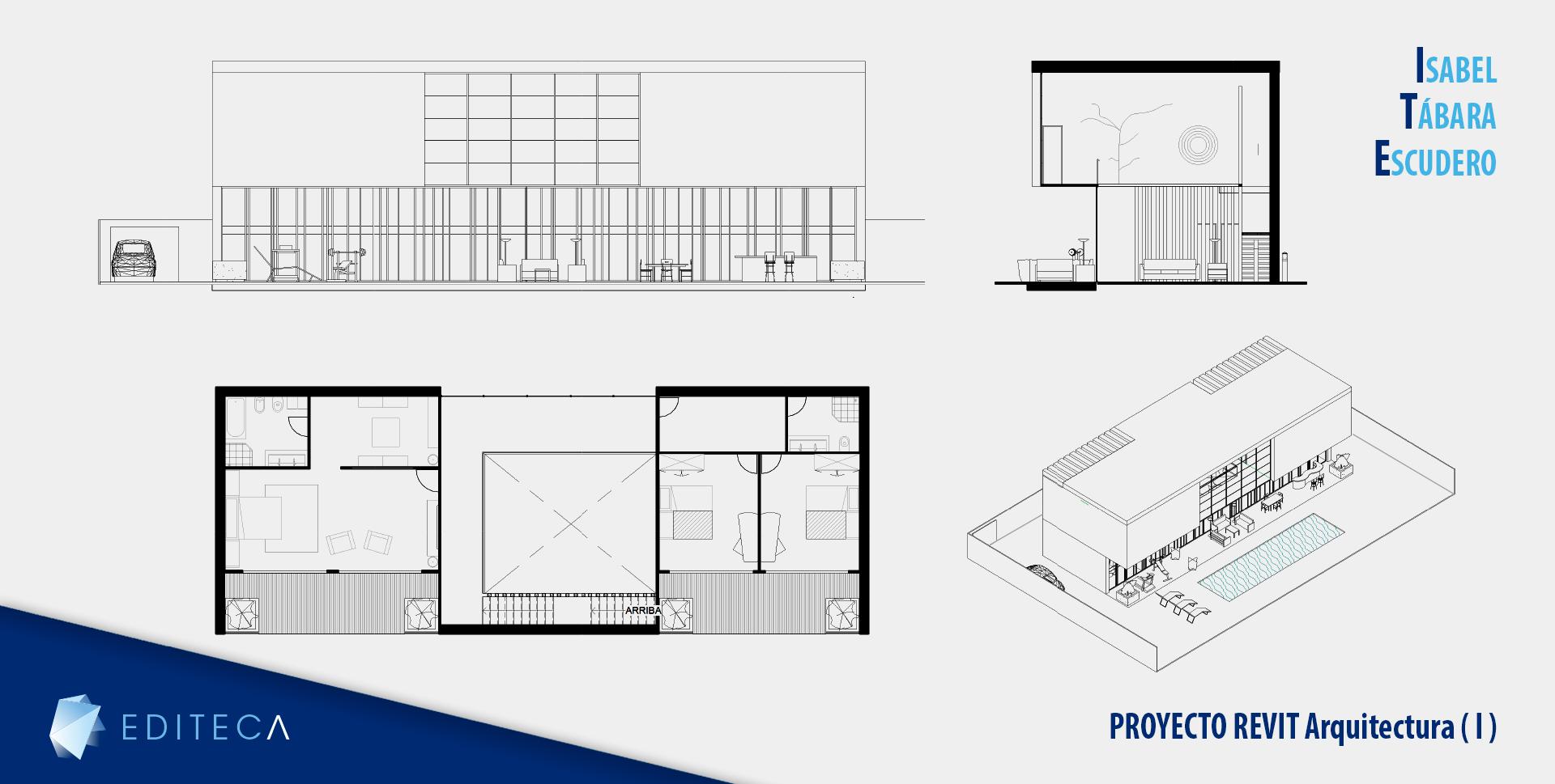 proyecto Curso de revit arquitectura básico - Isabel