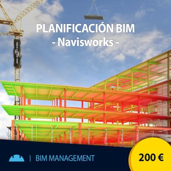 Curso online planificación BIM con Navisworks