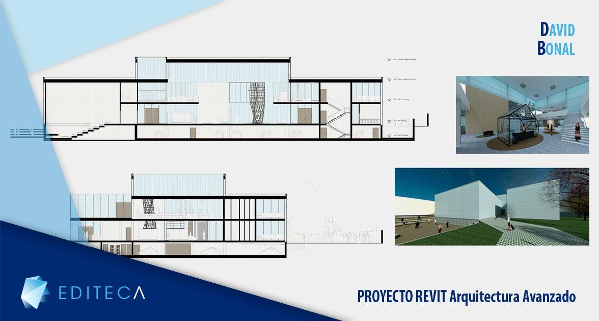 proyecto revit arquitectura avanzado david bonal