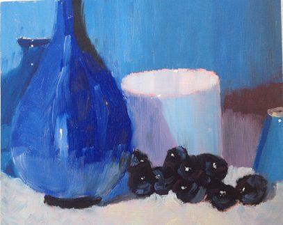 Blue still life