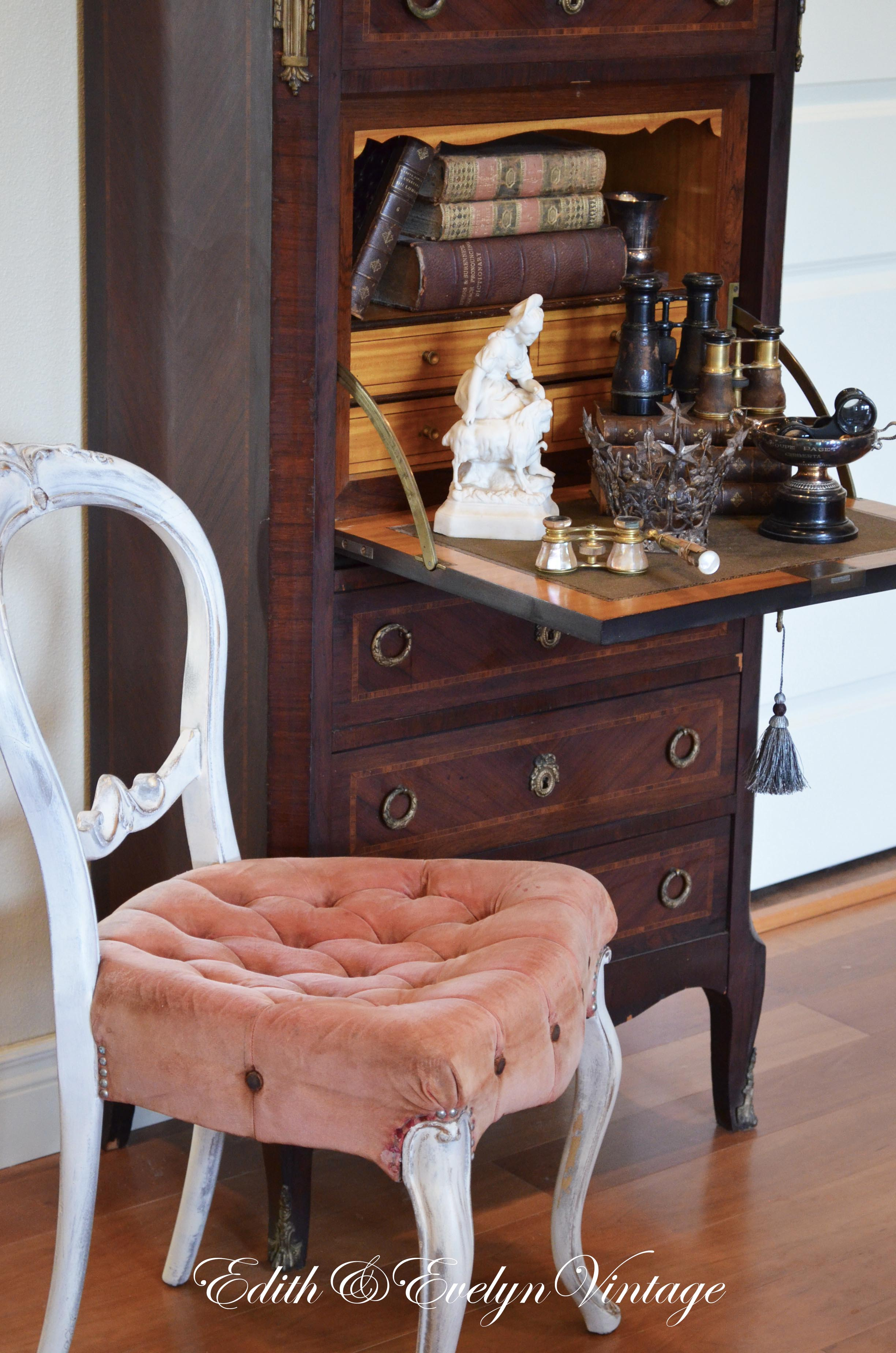 Antique french chair - Dsc_0847 Jpg