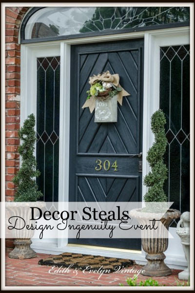 Vintage Style for Your Door