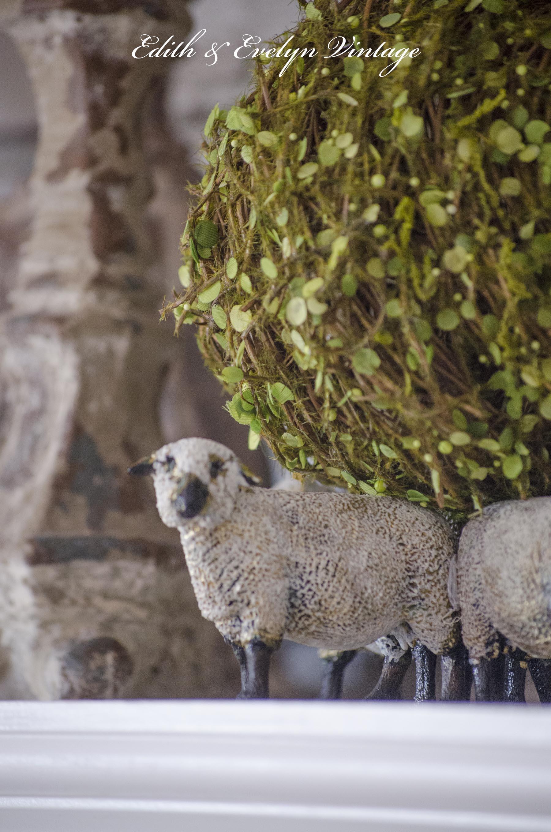 DIY Sheep Decor