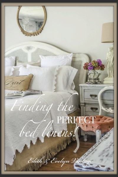 Perfect Moments and Perfect Linens