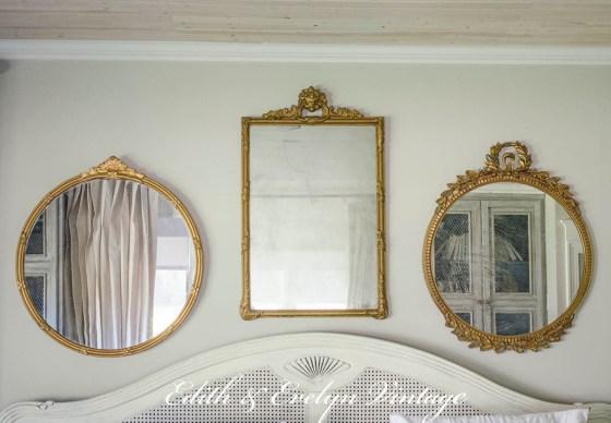 Loving an Old Mirror | Edith & Evelyn | www.edithandevelynvintage.com
