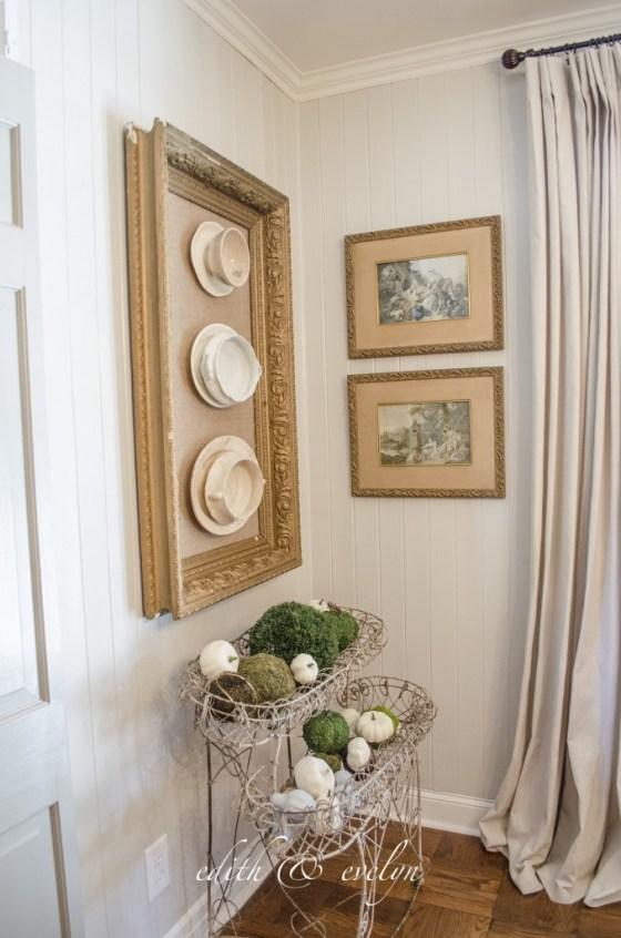 Framed Ironstone | Edith & Evelyn | www.edithandevelynvintage.com