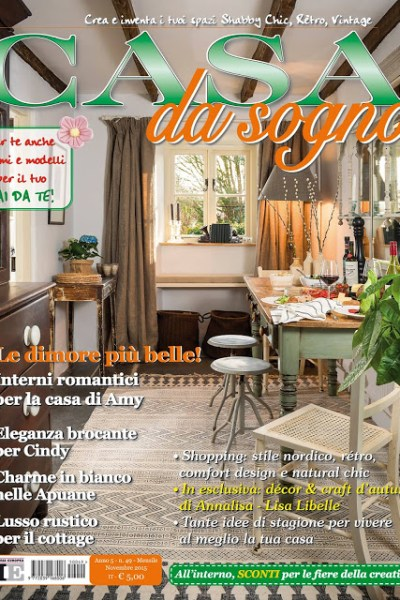 Our Home is Featured | Casa da Sogno