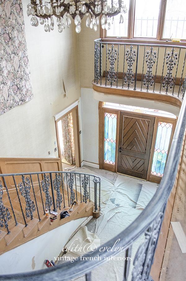 Foyer Project | Edith & Evelyn Vintage | www.edithandevelynvintage.com