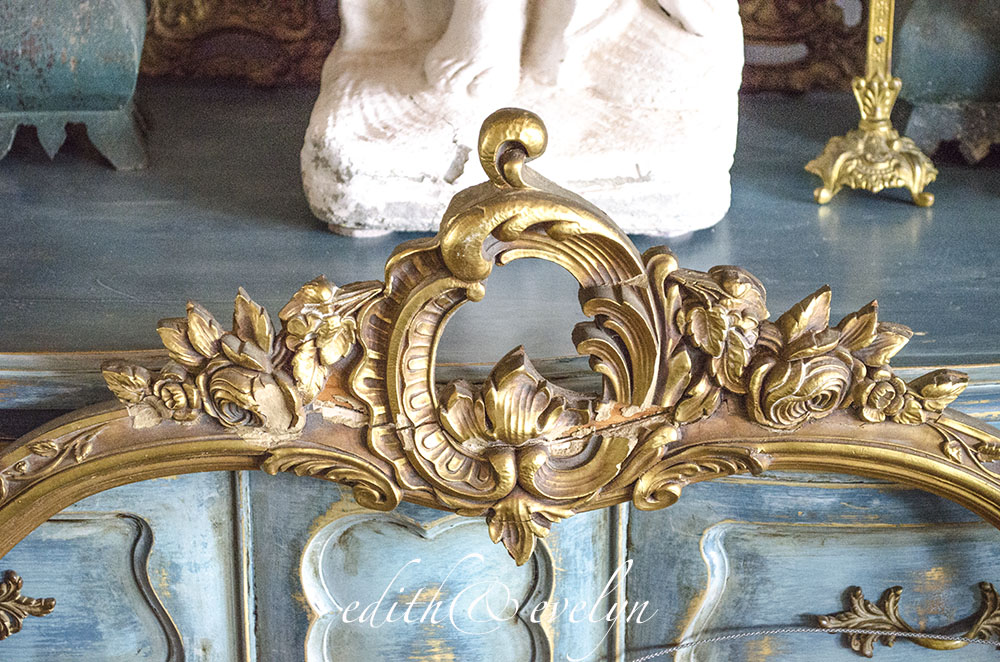 Create Your Own Fireplace Screen | Edith & Evelyn Vintage | www.edithandevelynvintage.com