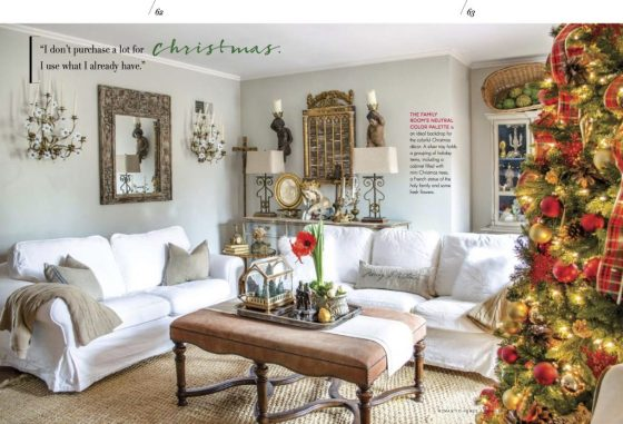 Magazine Features Romantic Homes and More | Edith & Evelyn | www.edithandevelynvintage.com