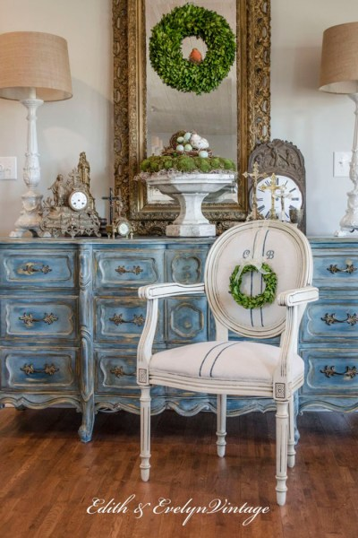 French Country Fridays ~ Grain Sacks, Kitchens, French Art and More!