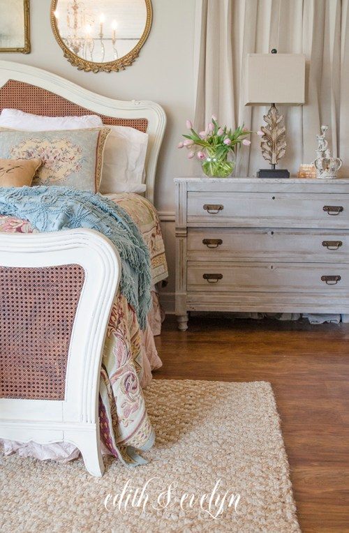 Refreshing the Master Bedroom | Edith & Evelyn | www.edithandevelynvintage.com