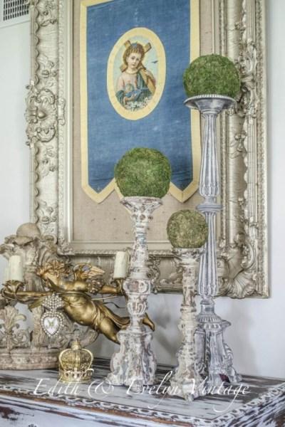 French Altar Sticks | Edith & Evelyn | www.edithandevelynvintage.com