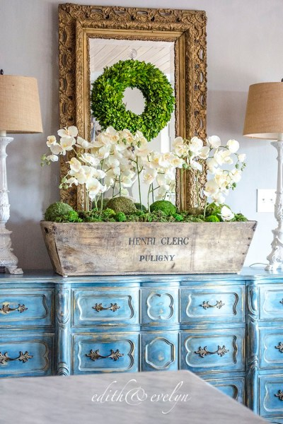 French Country Fridays No. 14 ~ Champagne, Orchids, Bottles, and More!