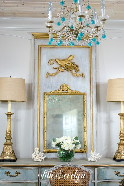How to Create a French Trumeau Mirror