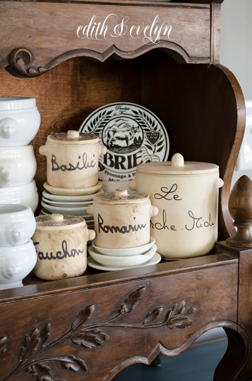 Sweet Little French Treasures | Edith & Evelyn | www.edithandevelynvintage.com
