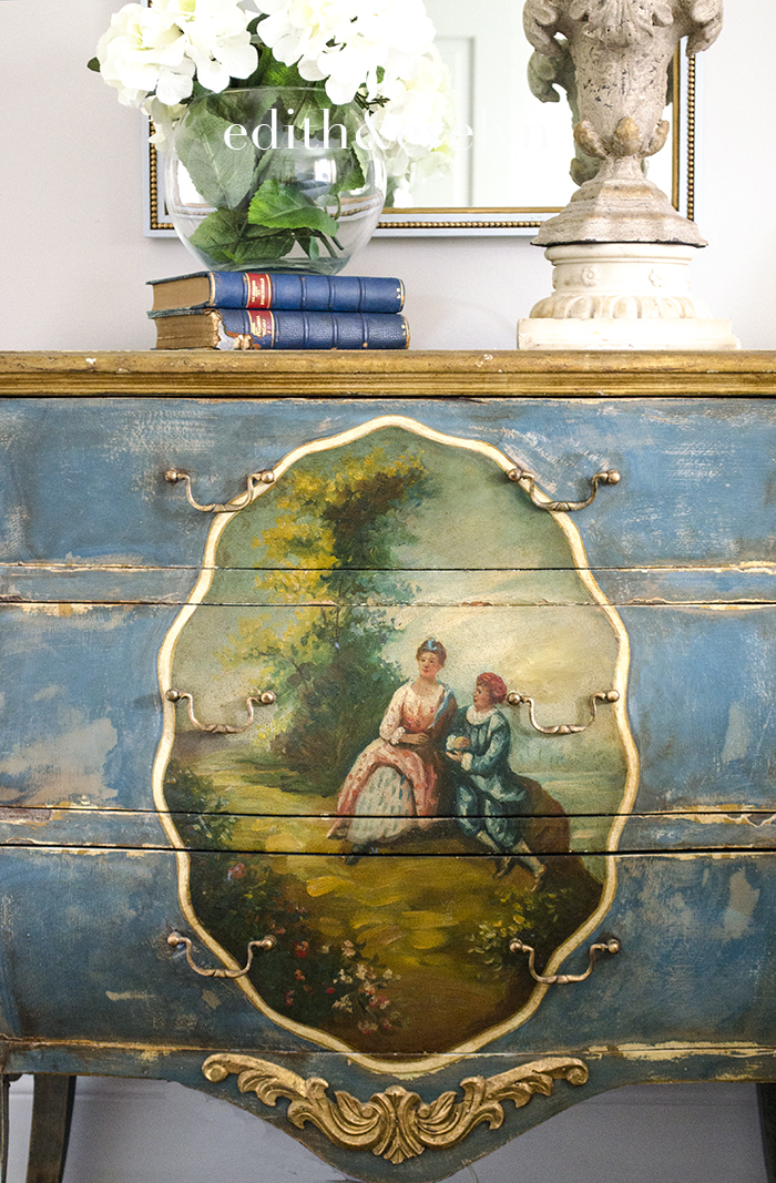 A French Chest Makeover   Edith & Evelyn   www.edithandevelynvintage.com
