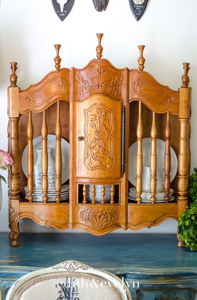 A French Panetiere | Edith & Evelyn | www.edithandevelynvintage.com