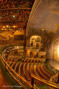 theatre, Winter Garden, Toronto, interior, stage, balcony