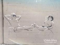 Israel, Tel Aviv, Gordon Beach, Promenade, street art, mural, street photography, graffiti, urban art