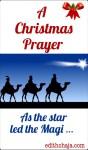 A CHRISTMAS PRAYER AND BIBLE VERSES