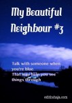 MY BEAUTIFUL NEIGHBOUR #3 (SHORT STORY)