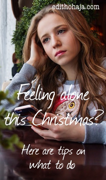 FEELING ALONE THIS CHRISTMAS? Here are tips on what to do