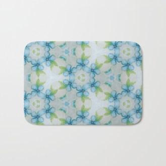 blue-flower-patter-bath-mats