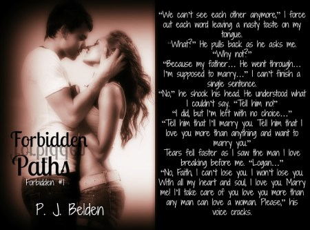 Forbidden Paths by P.J. Belden Teaser