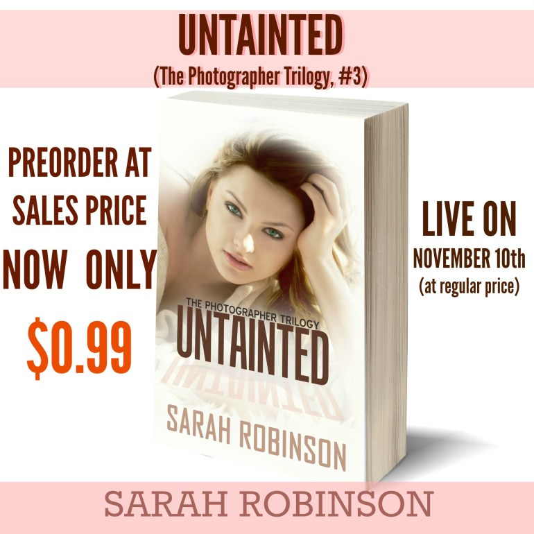 Untainted by Sarah Robinson Pre-Order