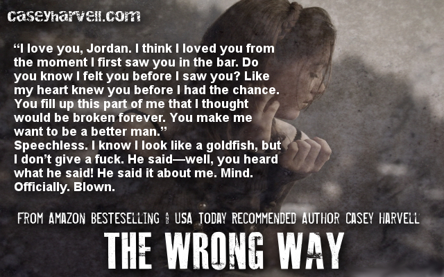 The Wrong Way by Casey Harvell Teaser