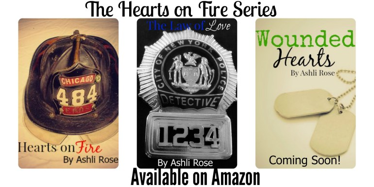 Hearts on Fire series by Ashli Rose