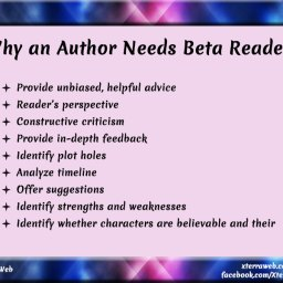Beta readers and why authors need beta readers