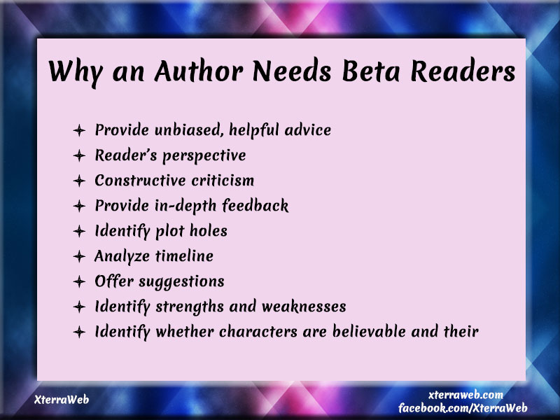 What is a beta reader? Why authors need a beta reader