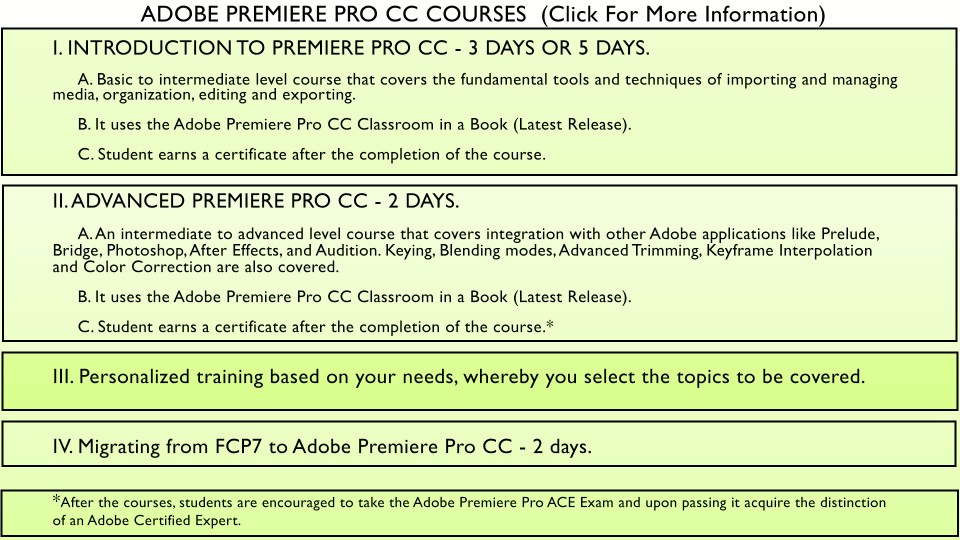 Adobe Premiere grfx for page