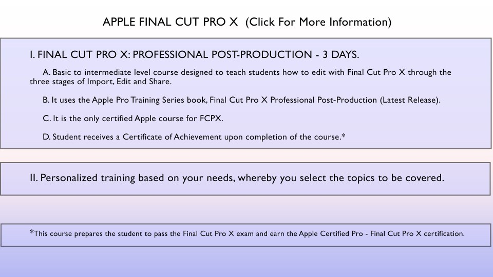 FCPX grfx for page